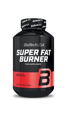 Maisto papildas Biotech Super Fat Burner 120 tab. kaina ir informacija | Riebalų degintojai | pigu.lt