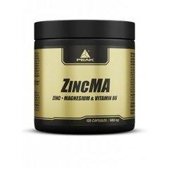 Maisto papildas Peak ZincMA 120 kaps. kaina ir informacija | Vitaminai | pigu.lt