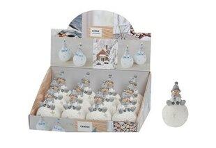 Kalėdinė žvakė Nykštukas kaina ir informacija | Kalėdinės dekoracijos, eglutės žaisliukai | pigu.lt