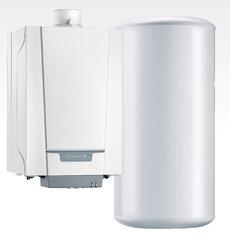 Dujinis - kondensacinis katilas De Dietrich NANEO + vandens šildytuvas ir davikliai