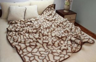Dviguba antklodė Merino Žirafa