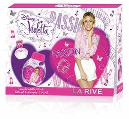 Rinkinys La Rive Violetta Passion: EDP merginoms 20 ml + dušo želė-šampūnas 250 ml