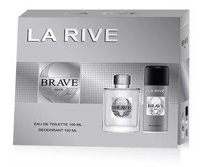 Rinkinys La Rive Brave: EDT vyrams 100 ml + dezodorantas 150 ml