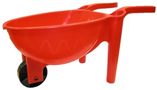 Žaislinis karutis daržui tvirtas 65 cm kaina ir informacija | Vandens, smėlio ir paplūdimio žaislai | pigu.lt