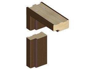 Standartinė durų stakta K90 44*90 Balta (B134)