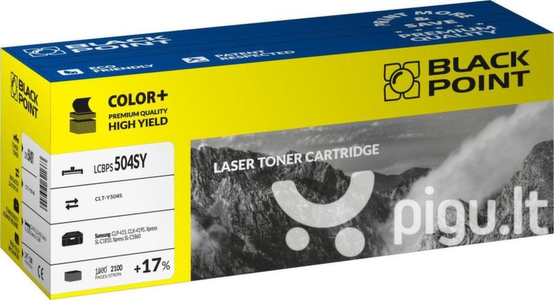 Toner Black Point LCBPS504SY | yellow | 2100 pp | Samsung CLT-Y504S