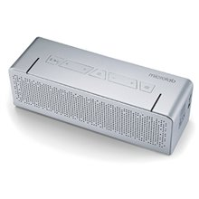Microlab T5 Bluetooth Portable Speaker/ Silver/ 20W RMS (10W+10W)/ Metal Shell