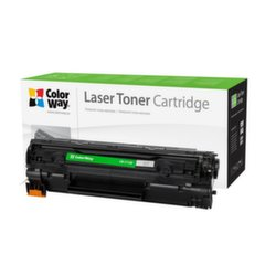ColorWay toner cartridge for HP CB435A/CB436A; Canon 712/713 Black