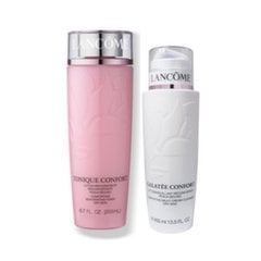 Rinkinys Lancome Wash The Day Off: valomasis pienelis 400 ml + tonizuojantis losjonas 400 ml