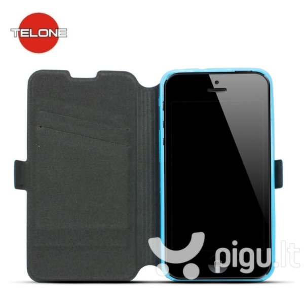 Telone Super Slim Shine Book Case with stand Huawei Ascend Y635 Blue