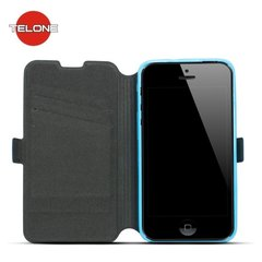 Telone Super Slim Shine Book Case with stand LG H635 G4 Stylus Blue