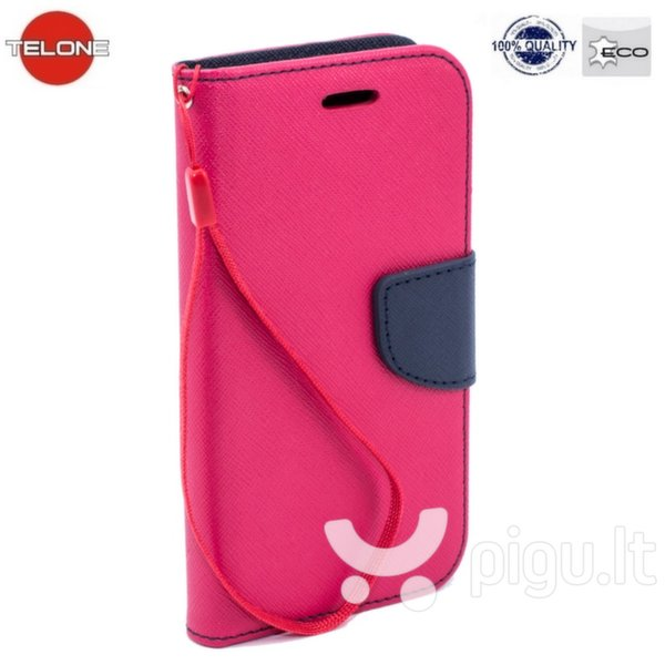 Telone Fancy Diary Bookstand Case LG G4c Mini H525N Pink/Blue