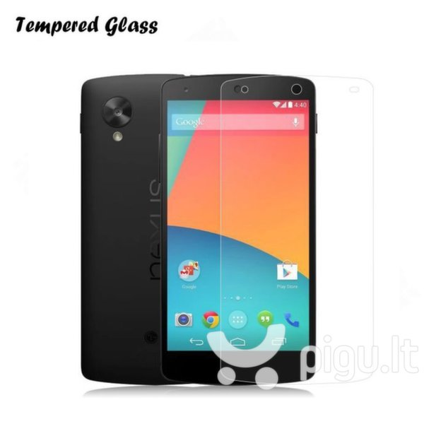 Apsauginis stiklas Tempered Glass skirtas LG Google Nexus 5X