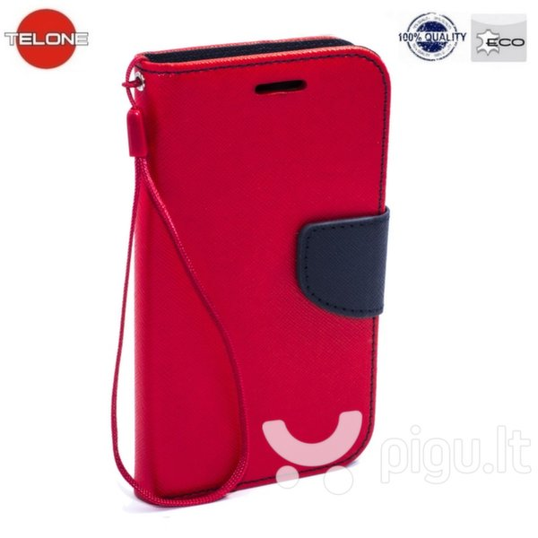 Telone Fancy Diary Bookstand Case Samsung J500F Galaxy J5 Red/Blue