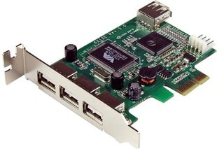 StarTech PCIe for 4 ports USB (PEXUSB4DP)