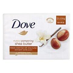 Muilas Dove Shea Butter 2x100 g