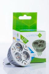 LED lemputė LUMENINN GU10 3 W kaina ir informacija | Elektros lemputės | pigu.lt