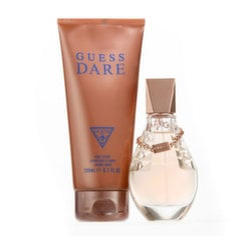 Rinkinys Guess Dare: EDT moterims 50 ml + kūno pienelis 200 ml kaina ir informacija | Kvepalai moterims | pigu.lt