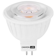 LED lemputė CANYON MR16 GU5.3 7,5W 12V 4000K