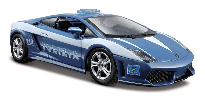 Automodelis MAISTO Die Cast 1:24 Lamborghini Police 31299
