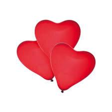 Balionai Susy Card Širdis 50vnt