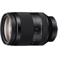 Sony FE 24-240mm f/3.5-6.3 OSS, Juoda