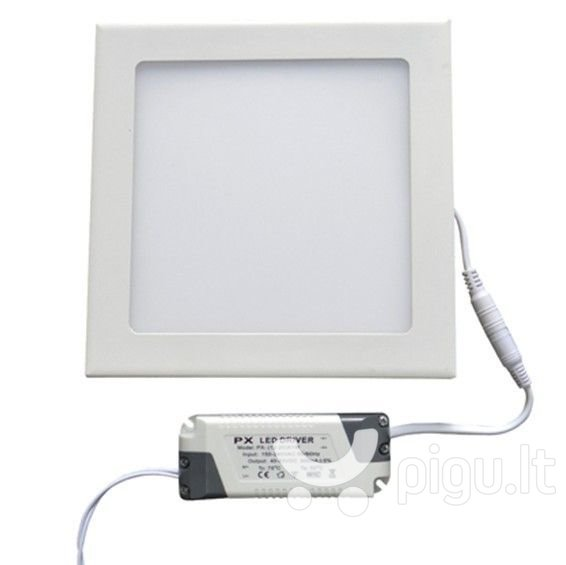 LEDlife LED panelė, 24W (neutrali balta)