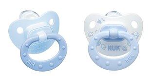 Silikoninis čiulptukas NUK Baby Blue Nr.1, 2 vnt.