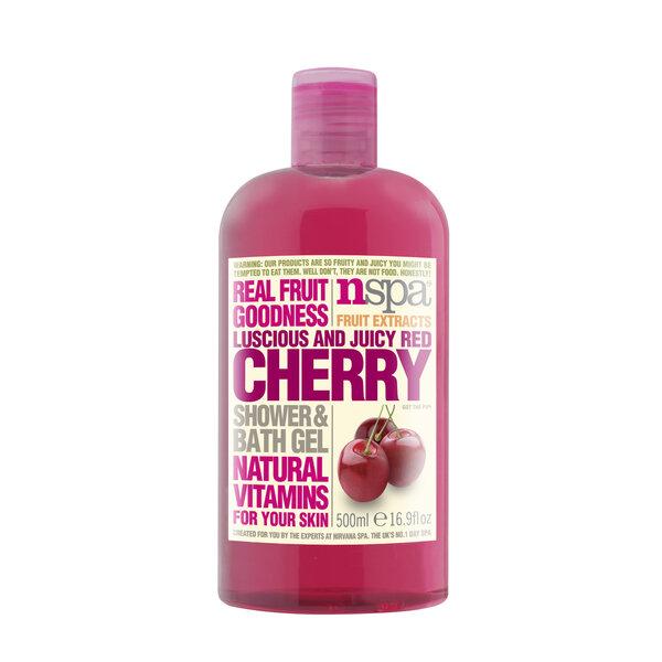 Vyšnių aromato dušo želė NSPA 500 ml