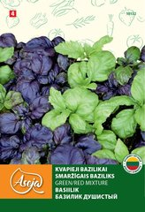 Kvapieji bazilikai /Basil fine leaved/ Green/Red Mixture, ASEJA, 0,5g , 10132( 4 )