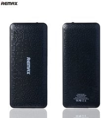 Remax Pure 10000mAh Power Bank + LED, Juodas