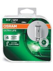 Automobilinės lemputės Osram Ultra Life H7, PX26D, 2 vnt.