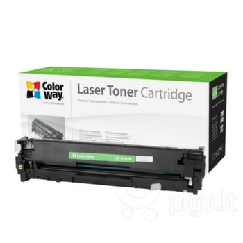 ColorWay toner cartridge (Econom) for HP CB542A (125Y); Canon 716Y, Yellow