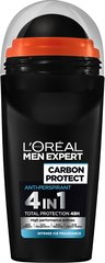 Rutulinis dezodorantas L'Oreal Paris Men Expert Carbon Protect 50 ml