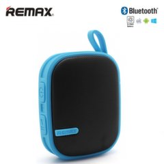 Remax RB-X2 Bluetooth 3.0 Super Loud 6W Rubbered Portable Music Box Speaker Blue