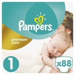 Sauskelnės PAMPERS Premium Care, 1 dydis, 88 vnt.