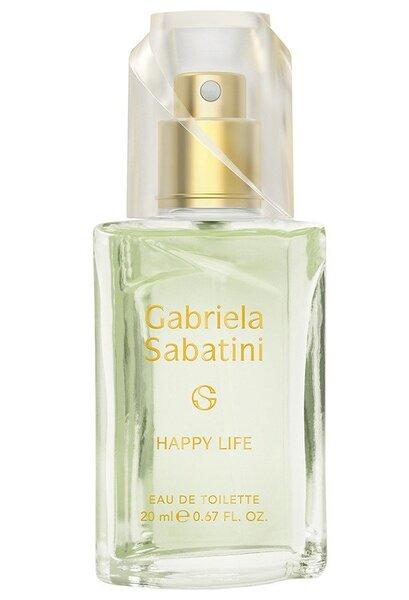 Tualetinis vanduo Gabriela Sabatini Happy Life EDT moterims 20 ml