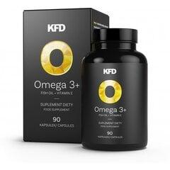 Maisto papildas kapsulėmis Omega 3+ kaina ir informacija | Vitaminai | pigu.lt