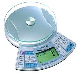 Adler AD 3133 kaina ir informacija | Svarstyklės (virtuvinės) | pigu.lt
