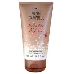 Dušo želė Naomi Campbell Winter Kiss moterims 150 ml kaina ir informacija | Parfumuota kosmetika moterims | pigu.lt