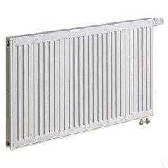 KERMI radiatorius 0.4 x 1.2 m, dvigubas, apatinio pajungimo su integruotu ventiliu.