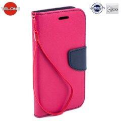 Atverčiamas dėklas Telone Fancy Diary Bookstand Case LG K4 K120E, Rožinis/Mėlynas kaina ir informacija | Telefono dėklai | pigu.lt