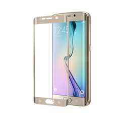 Samsung Galaxy S6 EDGE Plus Full curve GLASS by Celly Gold