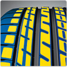 Improved wet braking and lower rolling resistance
