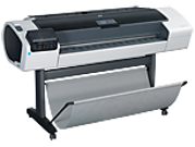 HP Designjet T1200 1118 mm PostScript Printer