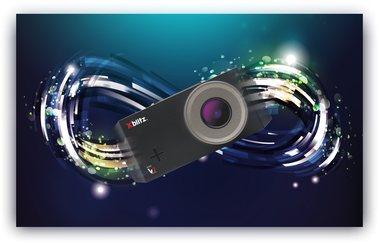 New! Xblitz v2 dashcam loop recording