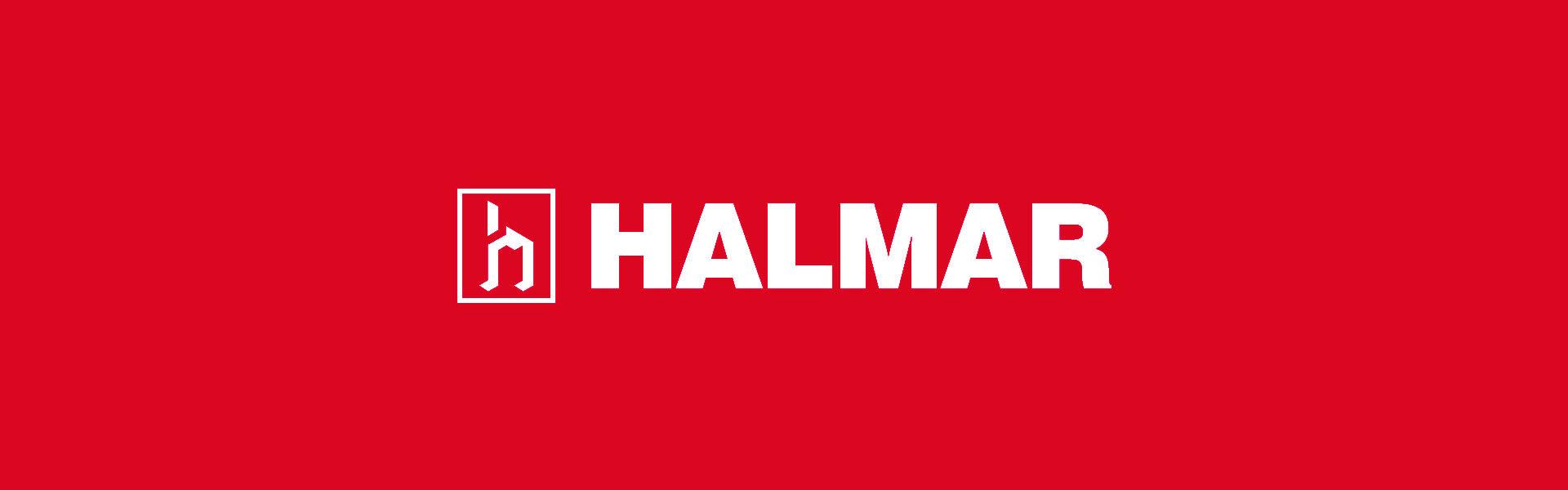 Vitrina Halmar Nest W-1, ruda/juoda                             Halmar