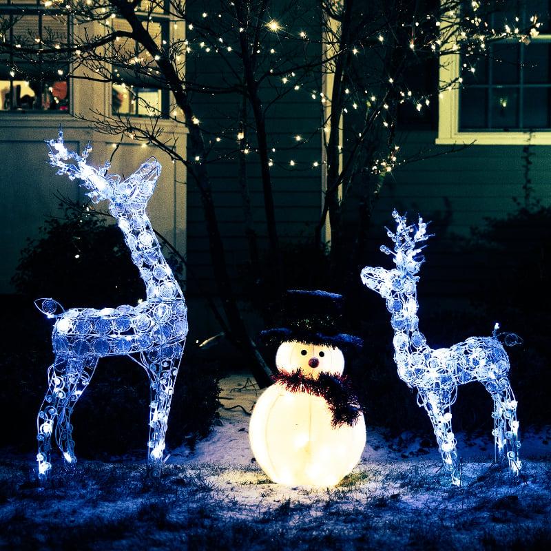 loomakujulised jõuluvalgustused